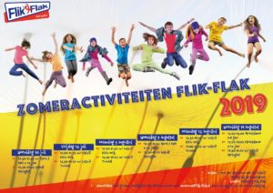 Zomeractiviteiten Flik-Flak 2019! @ De Plek (Flik-Flak hal)